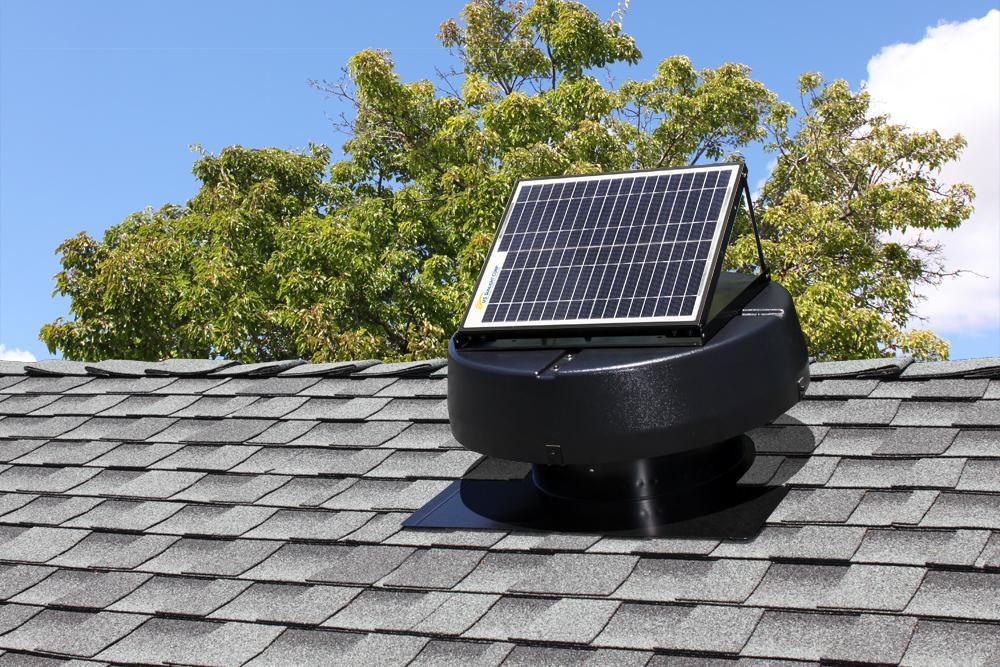 Solar Attic Fans & Solar Attic Fans - The Climate Chief - Albany Capital Region