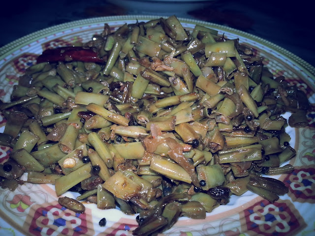 payar,upperi,beans thoran,vegetable upperi