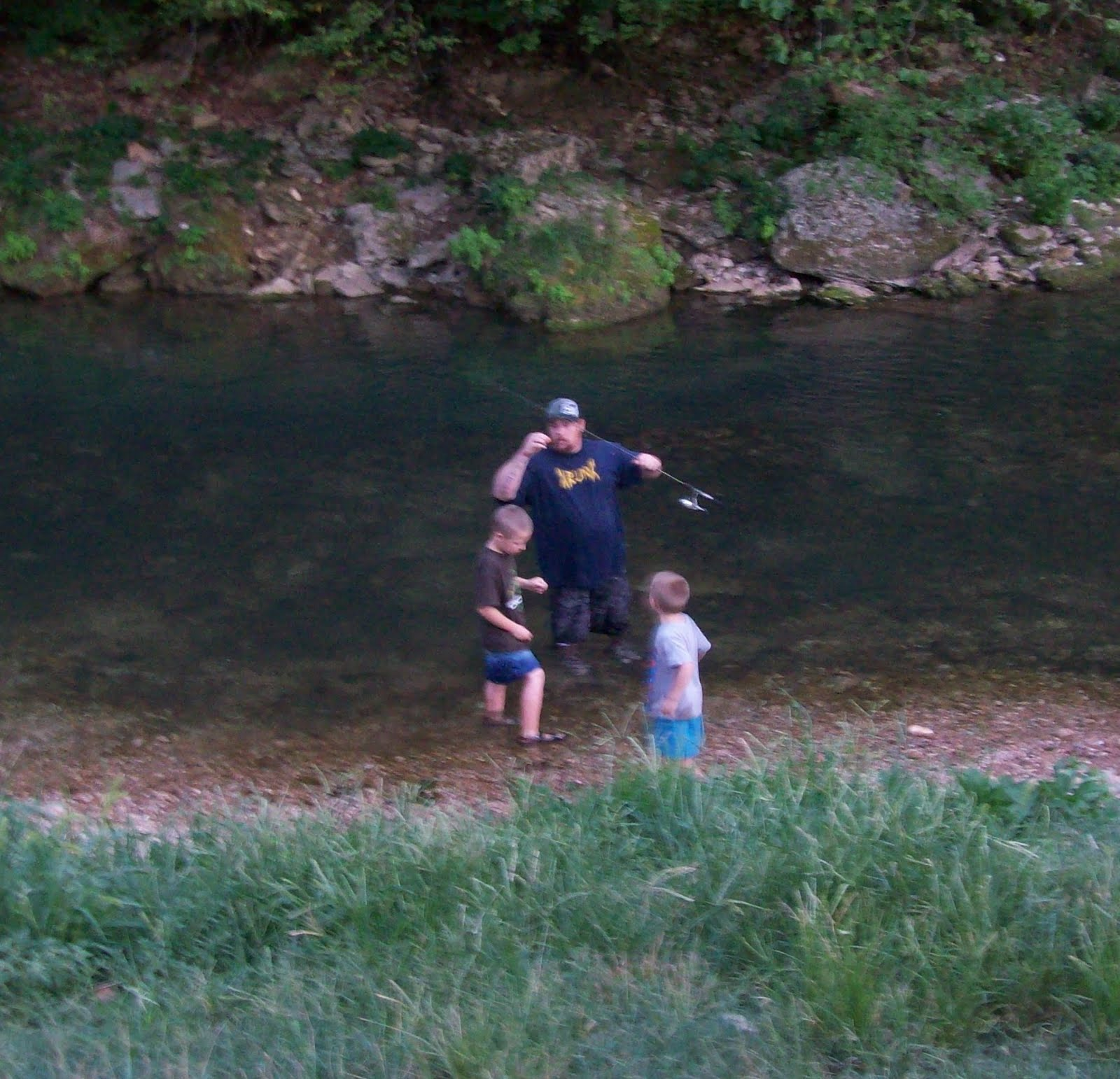 Magical madness roaring river state park for Roaring river fishing hours