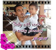 baby with uncle @ aunty giveaway