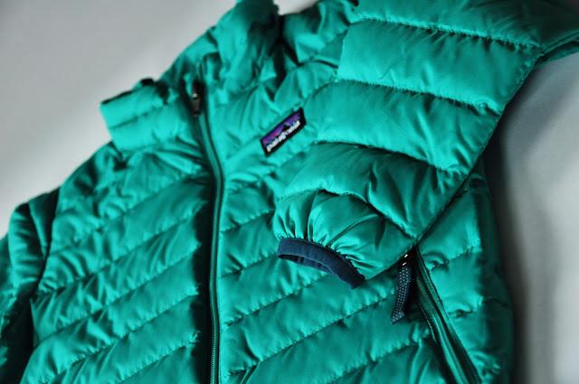 куртка patagonia зеленая