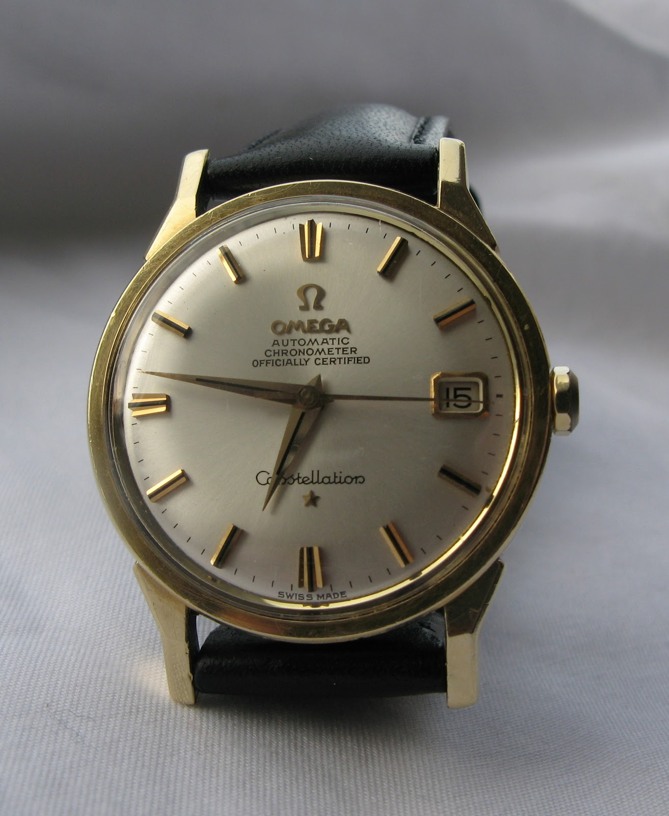 Andy b vintage watches 1963 omega constellation for Omega watch constellation