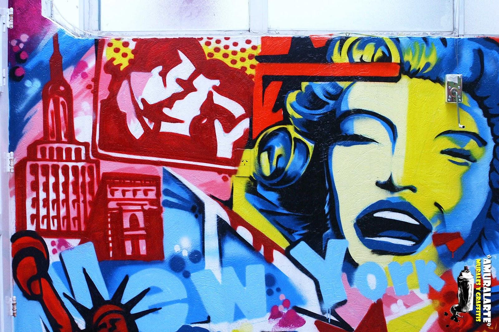 Amuralarte graffitis y murales personalizados