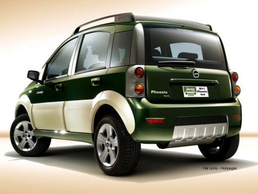 auto smart car revealed 2011 jeep phoenix based on fiat panda 4x4. Black Bedroom Furniture Sets. Home Design Ideas