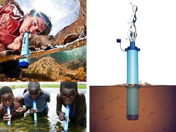 Invenção incrível para combater a falta de água portável