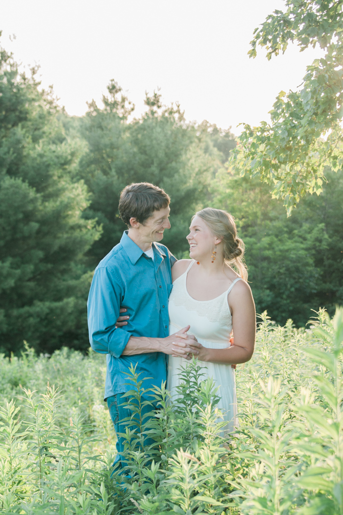 Blue Ridge Mountain Engagement Photo | Boone NC Photographer