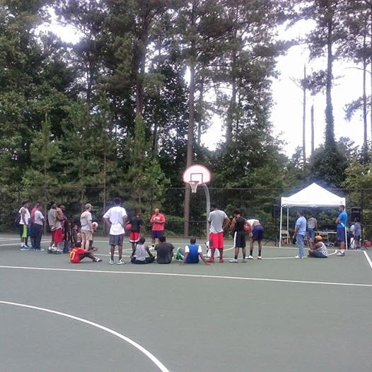 3 on 3 basketball Outreach