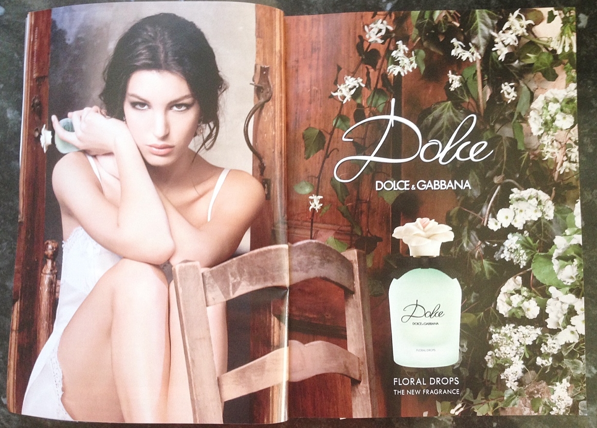 dolce and gabbana perfume advert