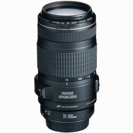 Harga dan Spesifikasi Lensa Canon EF 70-300mm f/4-5.6 IS USM Terbaru 2014