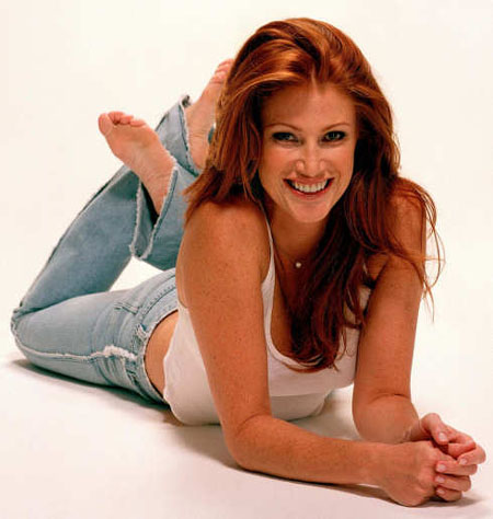 Angie Everhart Pictures. Single-parent Everhart gave birth to her first ...