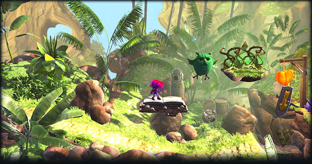 Screenshot of video game Giana Sisters: Twisted Dreams