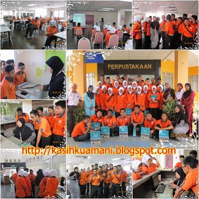 Lawatan oleh Pengawas Pusat Sumber Sekolah Menengah Teknik Tunku Ampuan Afzan, Pahang