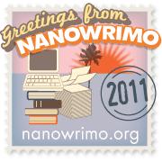 2011 NaN9WriMo Winner!