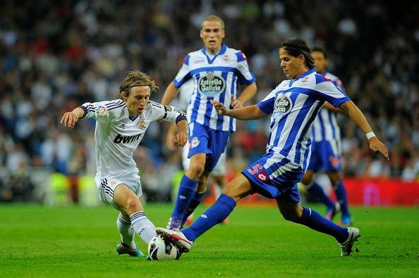Deportivo Modric Real Madrid