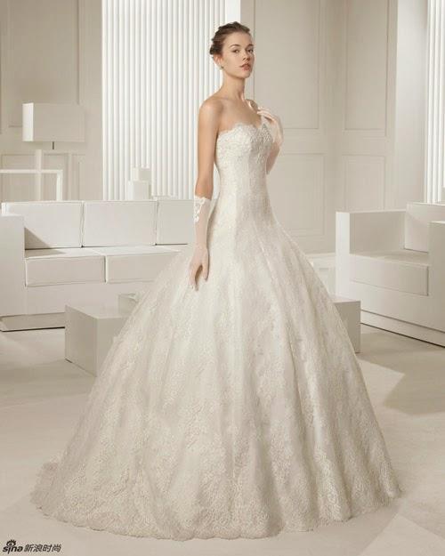 BST váy cưới của Rosa Clara 2015 cho cô dâu vai thon1