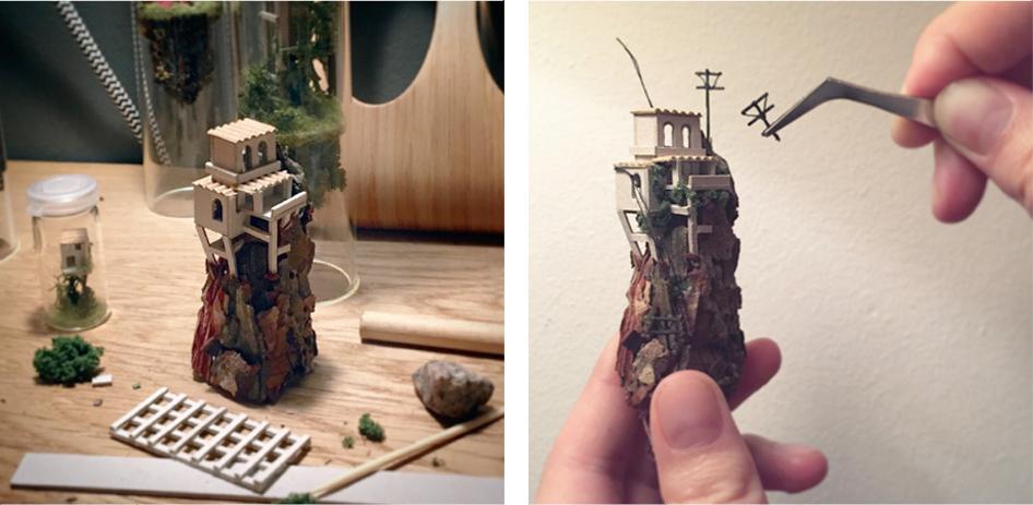 12-Rosa-de-Jong-Architectural-Miniature-Worlds-Inside-Glass-Test-Tubes-www-designstack-co