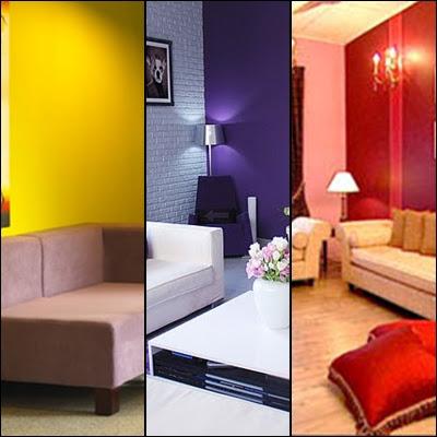 TIPS :: Warna di ruang Tamu