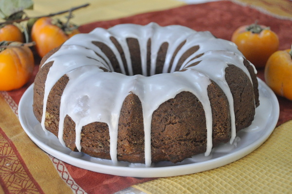 Spiced Persimmon Cake