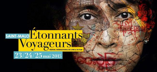 Festival Etonnants Voyageurs de Saint-Malo - 23 au 25 mai 2015
