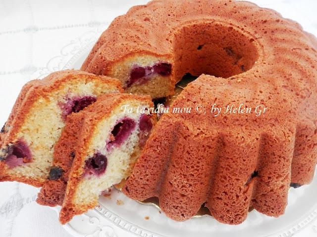 Κερασόπιτα – Κέικ