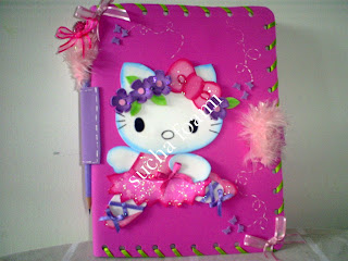 Cuadernos Decorados Con Foamy