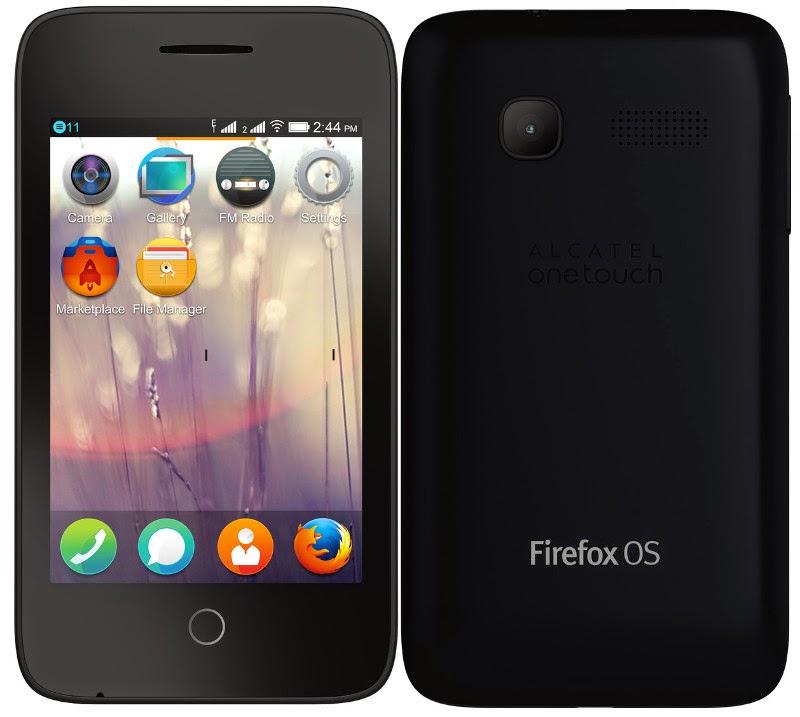 Alcatel Firefox OS ile çalışan Onetouch Fire C telefonunu tanıttı