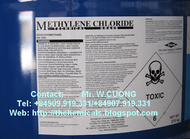 Methylen chloride (MC) dow chemicals