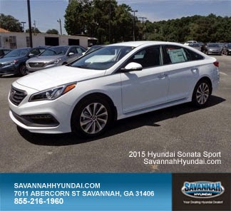 2015 Hyundai Sonata Sport, New Car Specials, Savannah GA