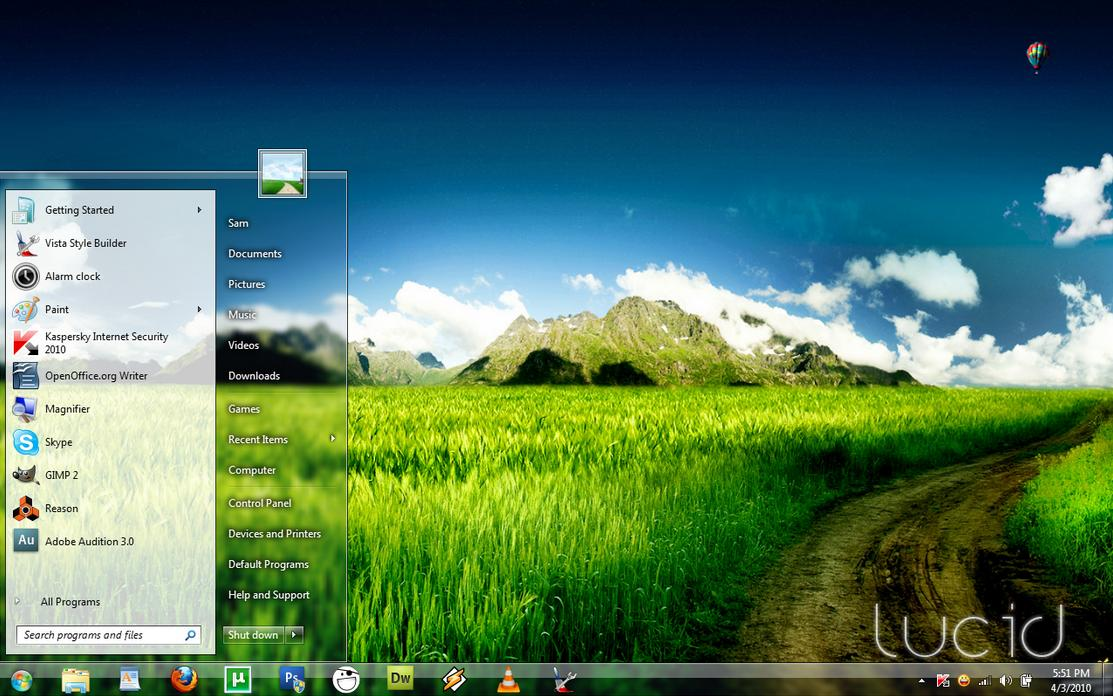 Cool Windows 7 Transpa...