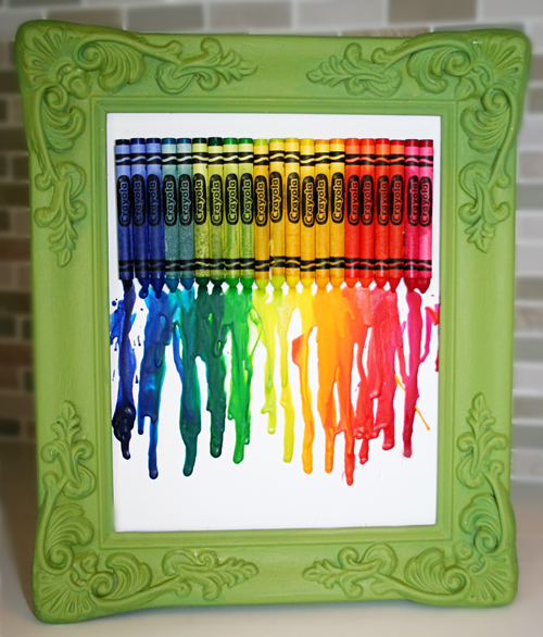 Back To School Melted Crayon Art Popsicle Blog