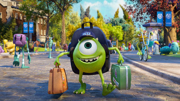 Billy Crystal as Mike in Monsters University