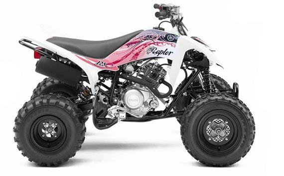 yamaha raptor 125 the girly atv motovisor. Black Bedroom Furniture Sets. Home Design Ideas
