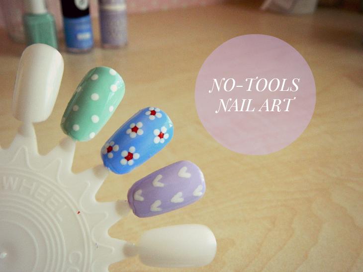 easy nail designs no tools
