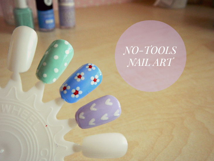 Love From Lisa How-To No-Tools Nail Art
