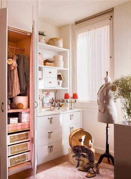 Tips para ordenar y mejorar el espacio de tu armario casas ideas - Como ordenar tu armario ...