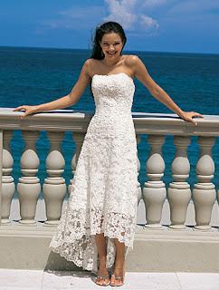 fotos de Vestidos para Casamento na Praia