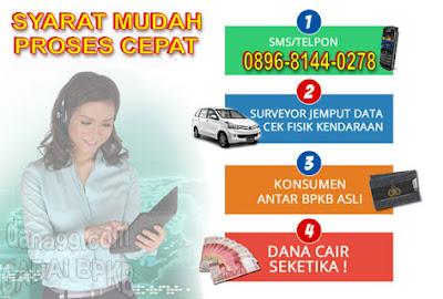 Dana Tunai Gadai BPKB Mobil Dan Motor