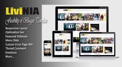 livinia-responsive-blogger-template