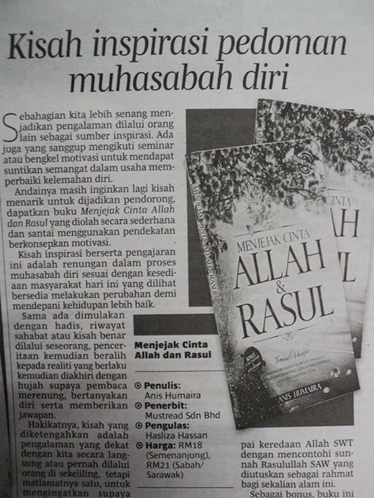 Ulasan buku di Berita Harian