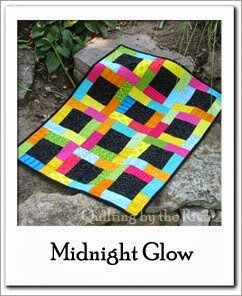 Midnight Glow Quilt Free Tutorial at Freemotion by the River