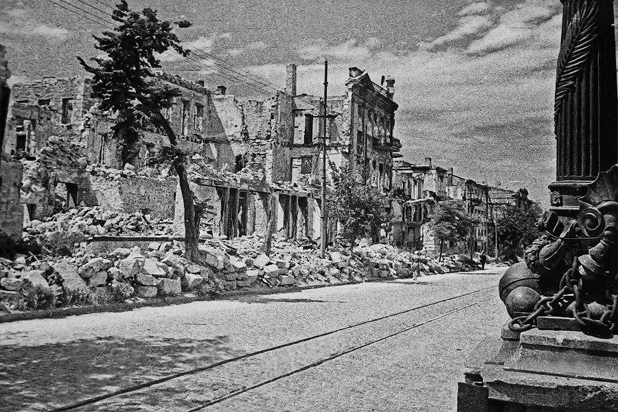 Севастополь во время войны