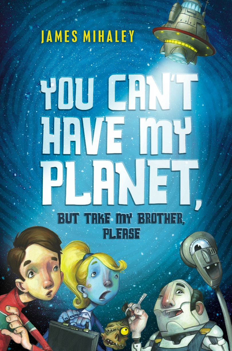 ... the author of YOU CAN'T HAVE MY PLANET BUT TAKE MY BROTHER, PLEASE.