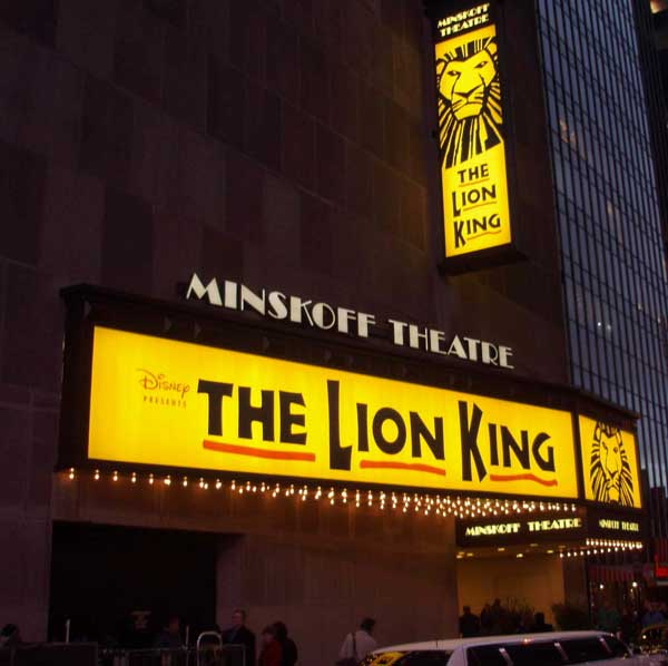 the lion king  the broadway musical  the lion king theatres