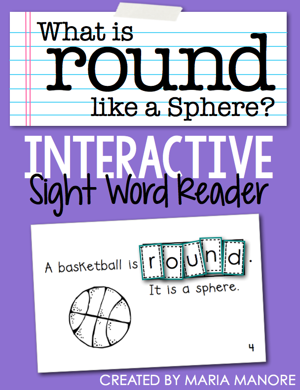 "emergent reader for sight word ""ROUND"""