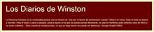 Los diarios de Winston