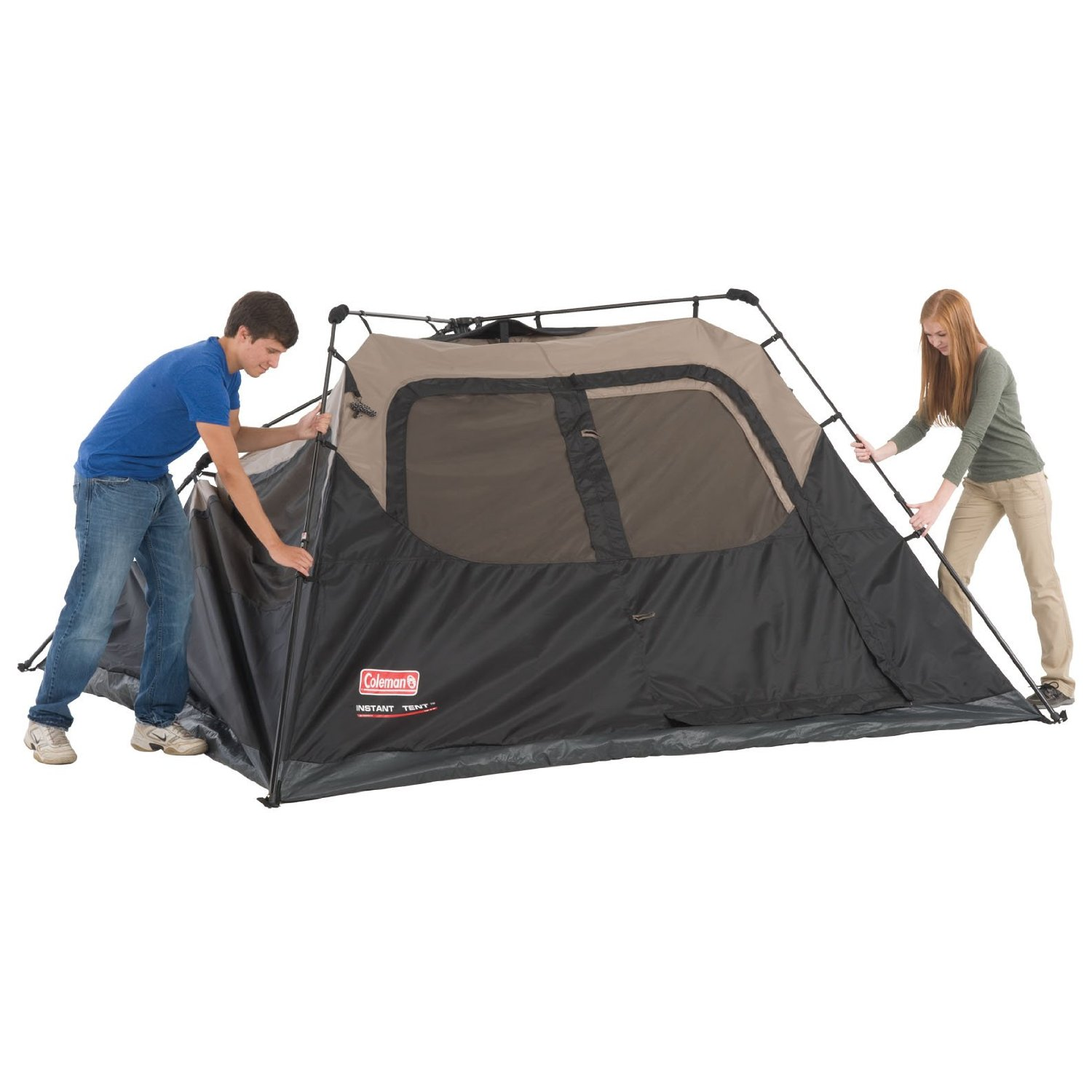 Affordable Instant Shelters : Coleman person instant tent stuff for camping all