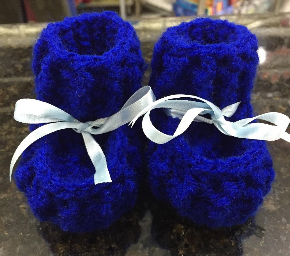 Sapatinho de Crochet