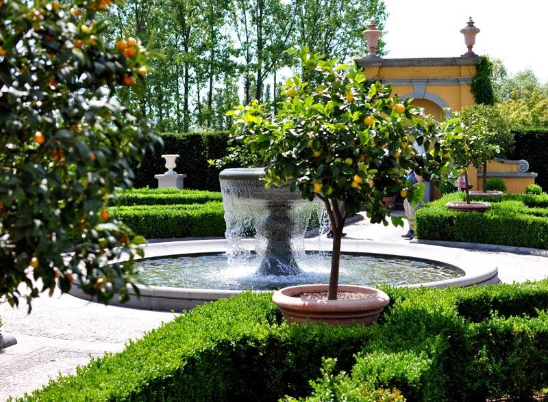 Maailmojen puutarha Berliinissä, Gärten der Welt