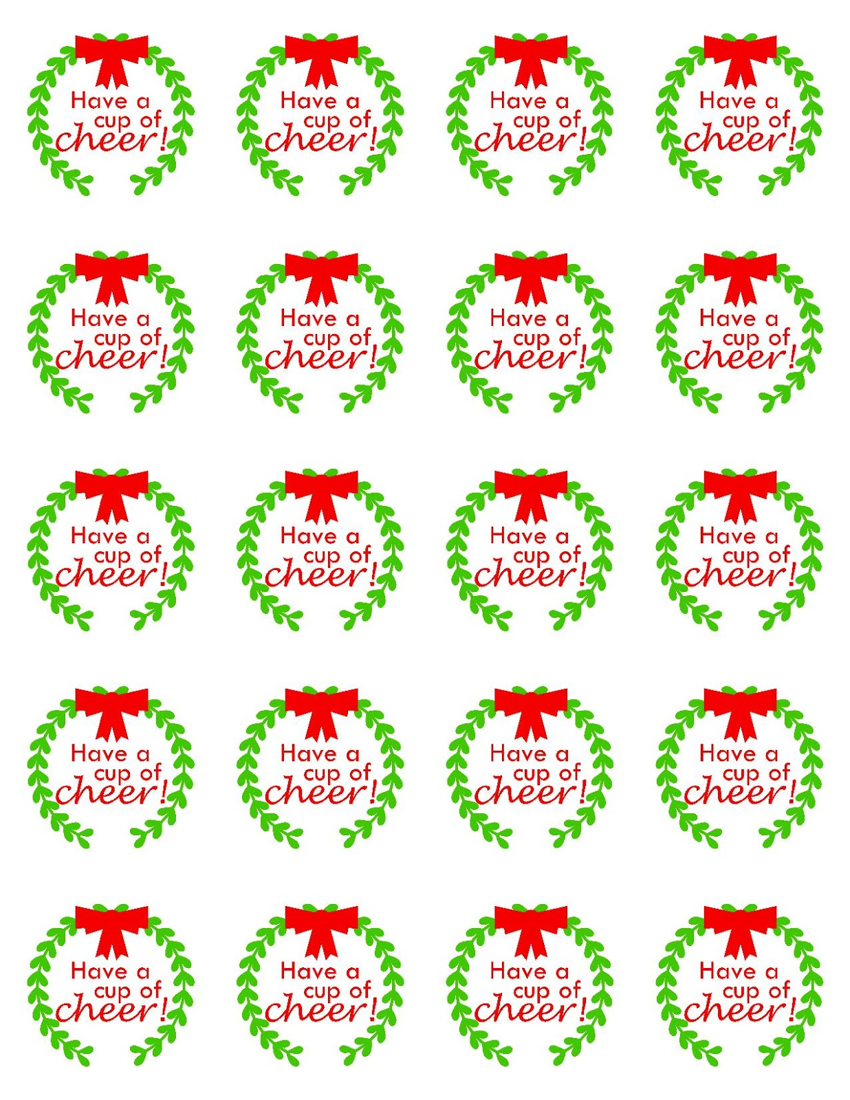 taylor stamped cocoa christmas ornaments and free printable