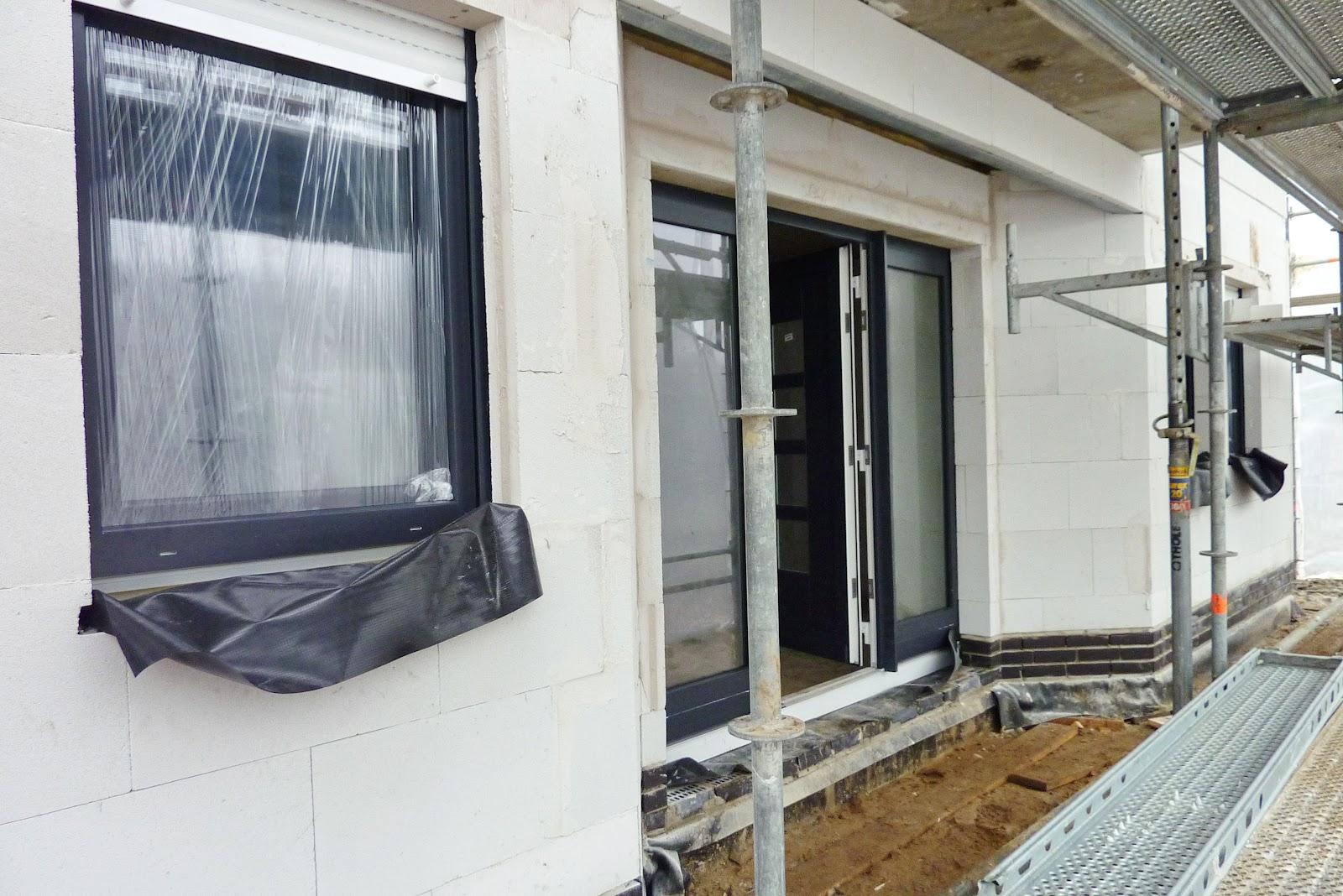 Fenster außen anthrazit innen weiß  Bautagebuch zu unserem Traumhaus: